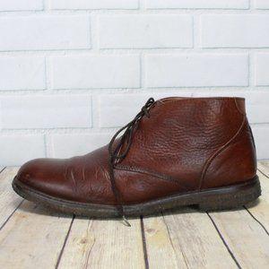 JOHNSTON & MURPHY Crepe Sole Chukka Boots Size 9.5